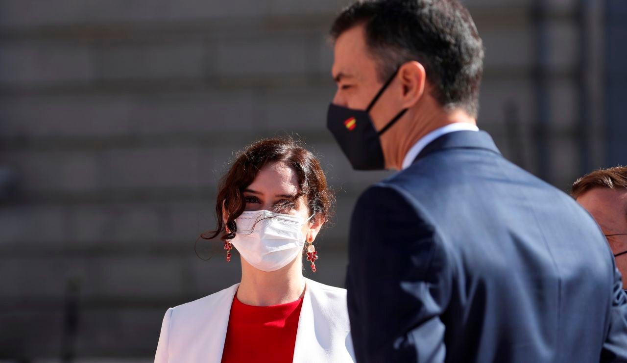 """Sánchez critica a Ayuso por los """"malos datos"""" del COVID en Madrid y ésta responde: """"El presidente ha hecho de la mentira una forma de vida"""""""