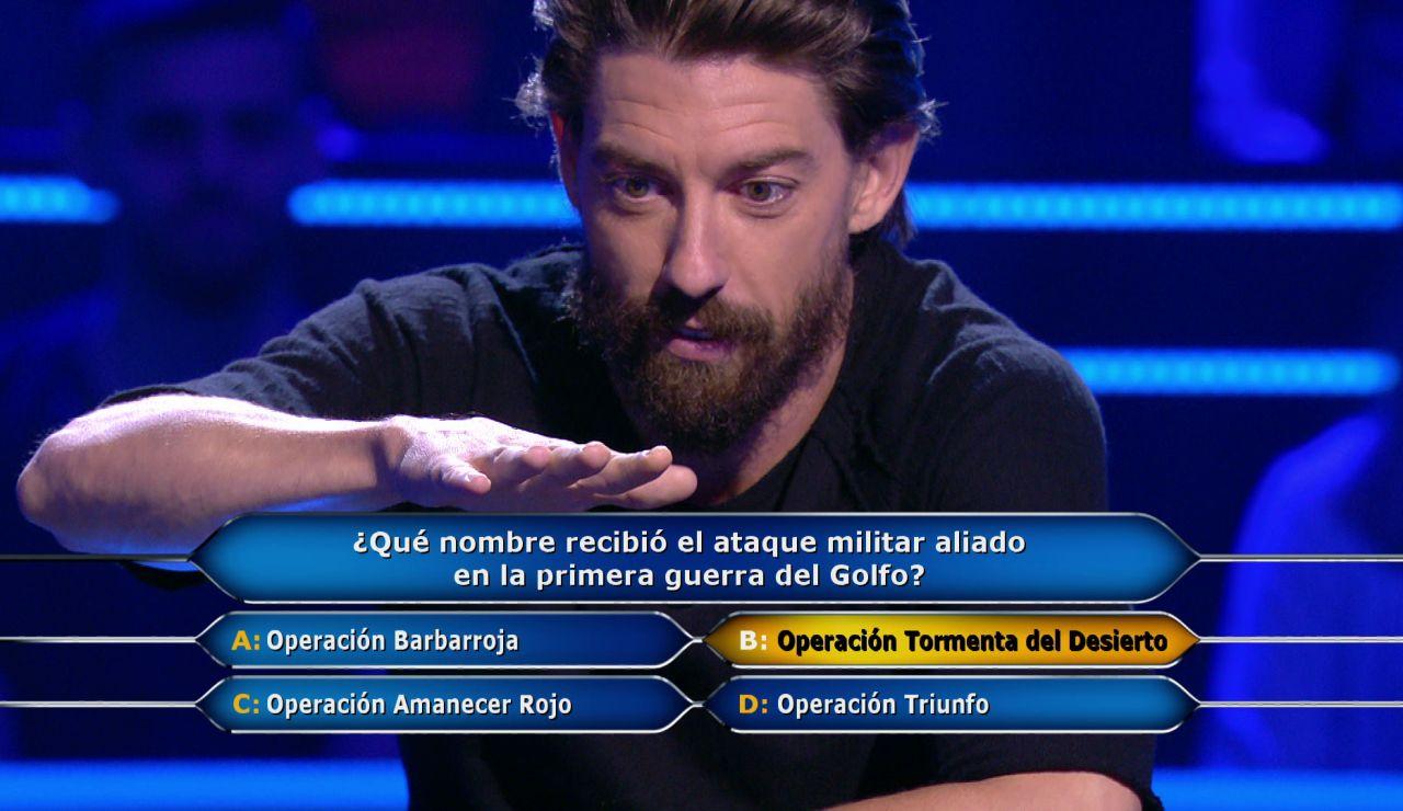 """""""Estoy temblando"""": Adrián Lastra se mete en un berenjenal en '¿Quién quiere ser millonario?'"""
