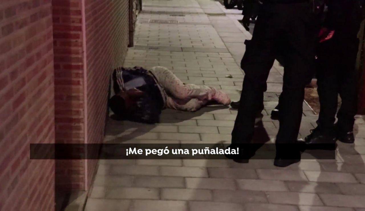 El momento en un hombre apuñalado reconoce a sus agresores en Alicante