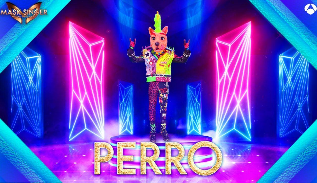 El Perro, nueva máscara confirmada para la segunda edición de 'Mask Singer: adivina quién canta'