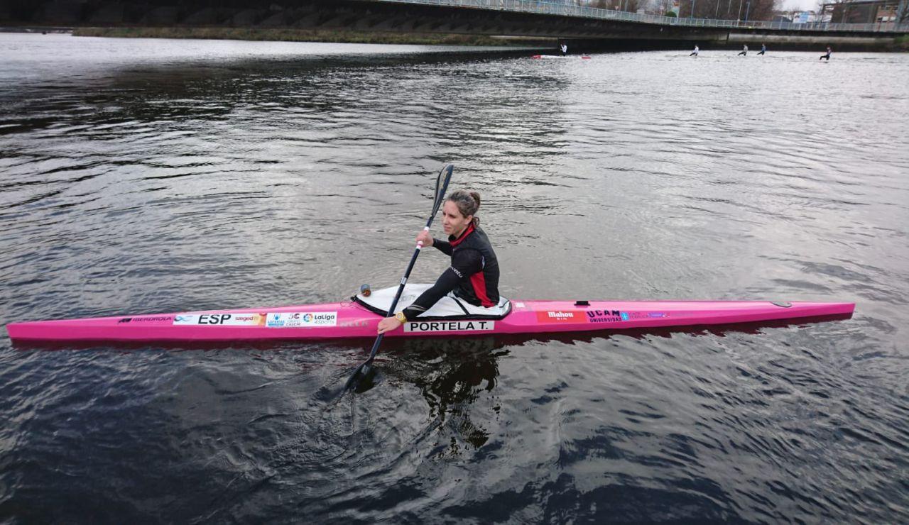 Teresa Portela se convierte en la primera deportista española en participar en seis Juegos Olímpicos