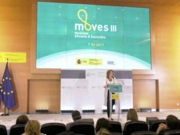 Teresa Ribera, presentación Plan Moves III
