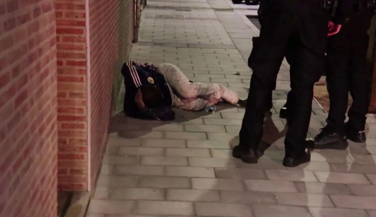 El momento en el que un hombre apuñalado reconoce a sus agresores en Alicante