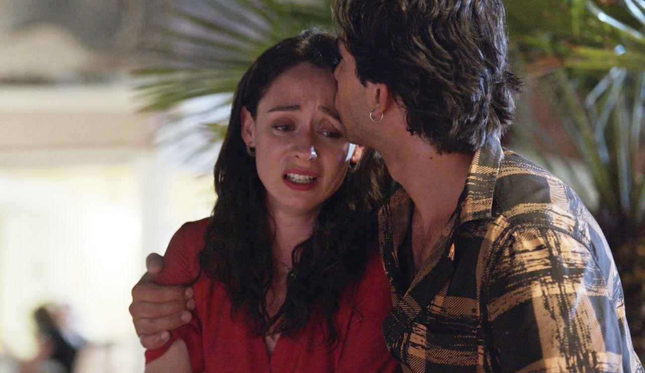 """Tirso, el apoyo de Alba durante un ataque de pánico: """"Estoy aquí para cuidarte"""""""