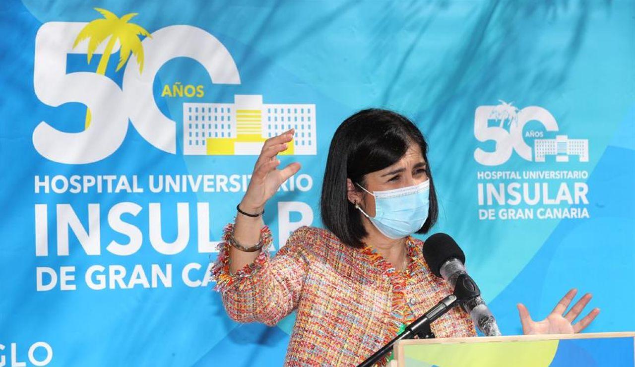 """Carolina Darias pide """"máxima confianza"""" en las vacunas pese a los cambios en la planificación"""