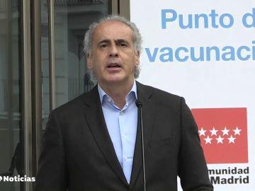 Madrid pide que el Gobierno permita vacunarse con AstraZeneca a menores de 60 años de forma voluntaria