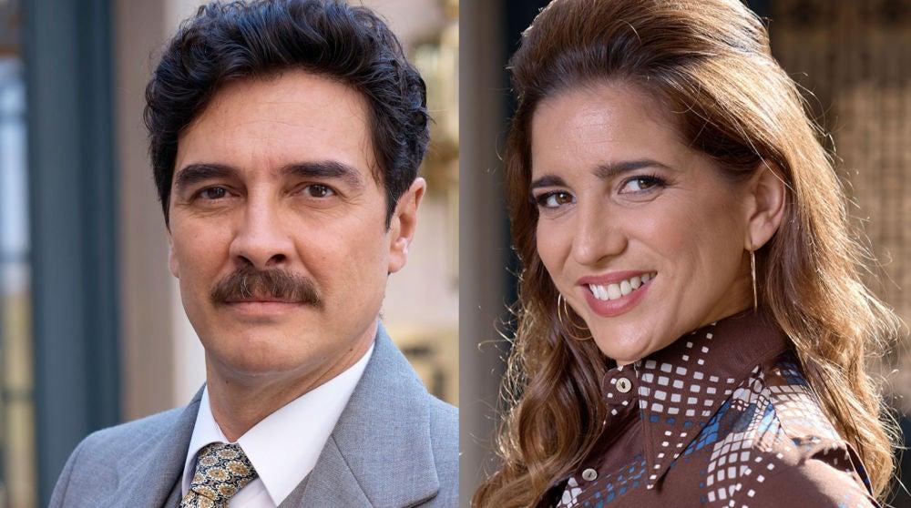 José Manuel Seda y Lucía Jiménez
