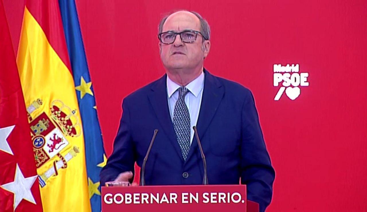 Ángel Gabilondo asegura que si gana las elecciones formará el primer gobierno paritario en Madrid