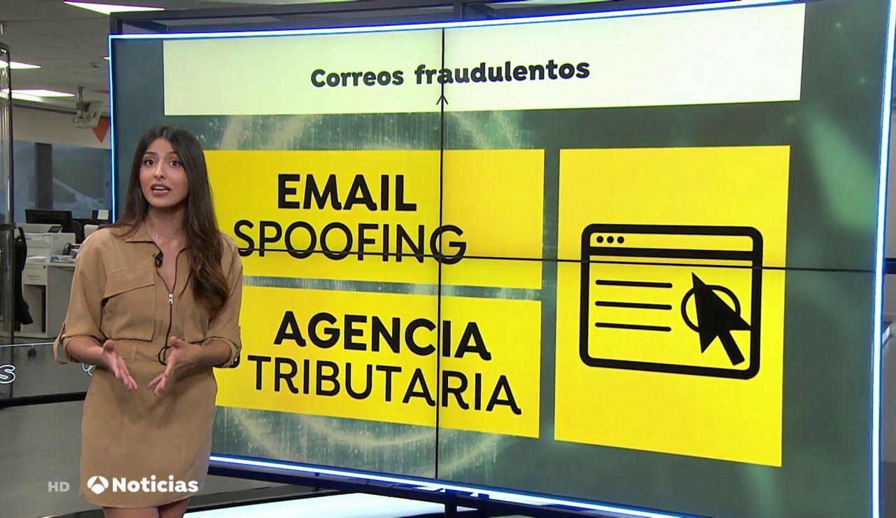 'Email spoofing', la técnica con la que los hackers intentan estafar haciéndose pasar por Hacienda