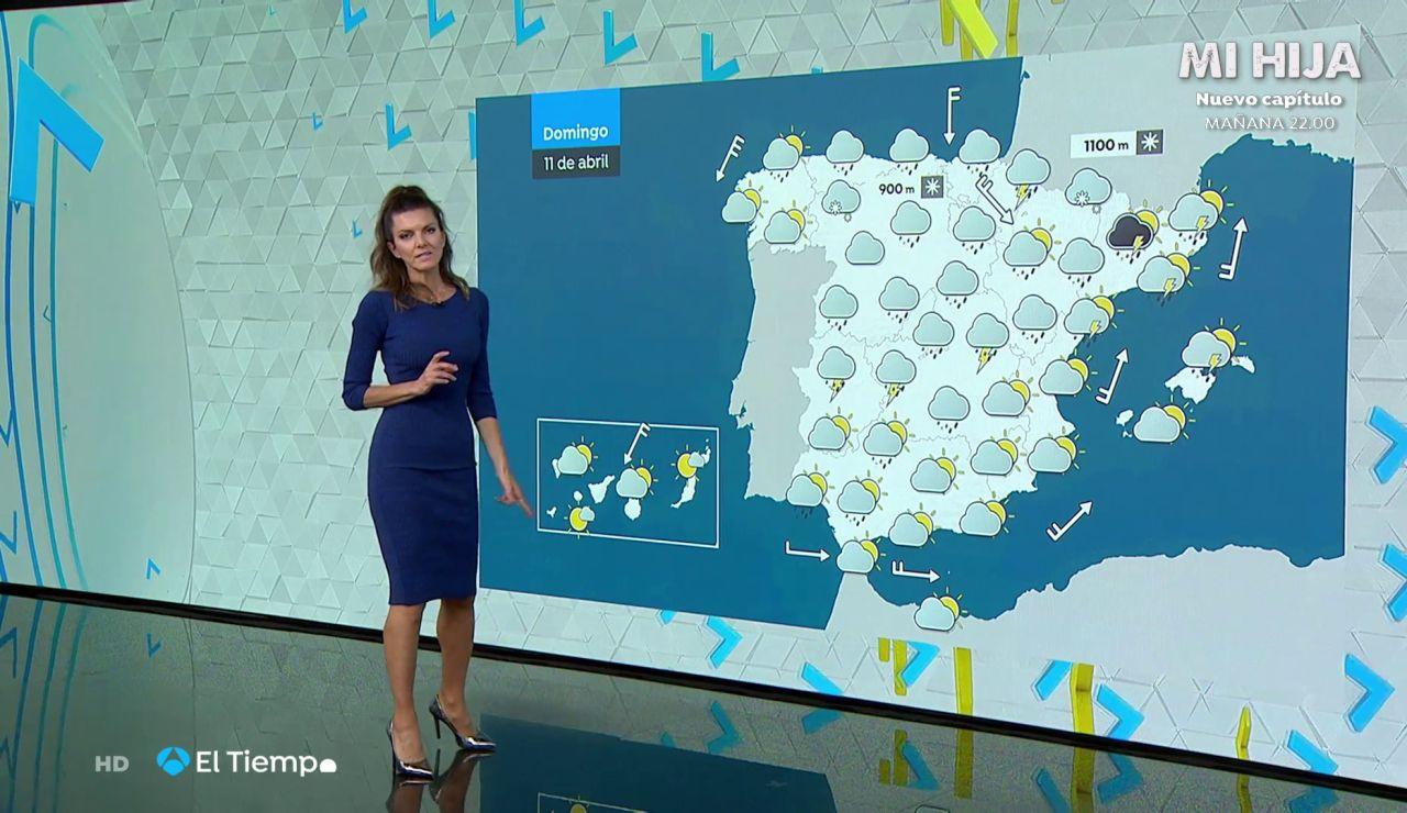 Tu Tiempo (10-04-21) Avisos de lluvias y tormentas