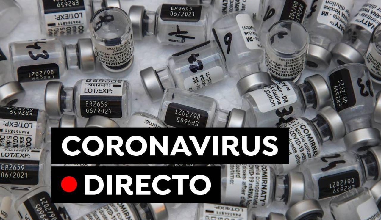 Coronavirus en España: Restricciones, toque de queda, vacunas y últimas noticias del COVID-19 hoy, en directo