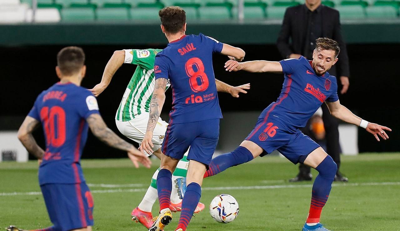 El Atlético de Madrid sigue en caída libre y se deja dos puntos en el Villamarín