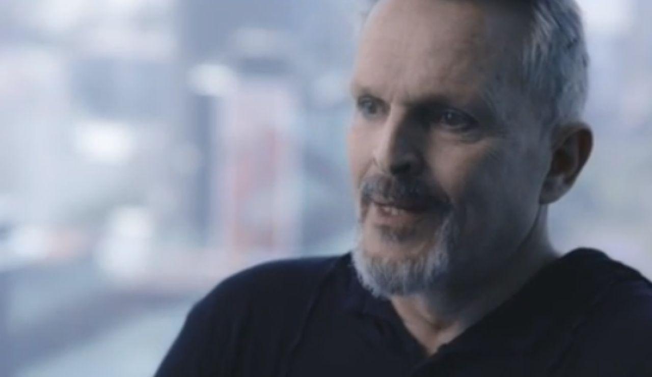 Miguel Bosé, en 'Lo de Évole'