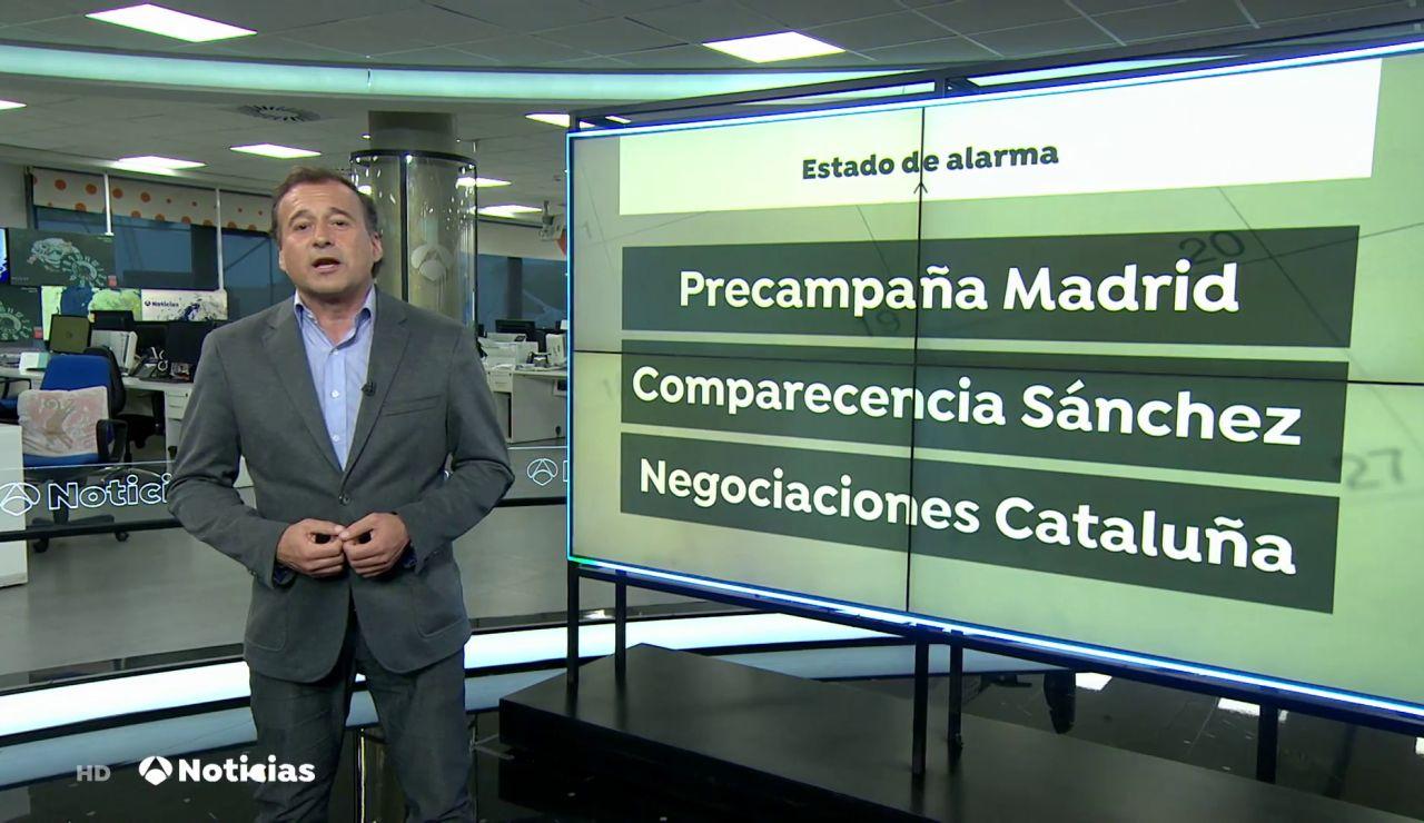La salida forzosa de Toni Cantó de la lista del PP de elecciones en Madrid marca la agenda de la semana
