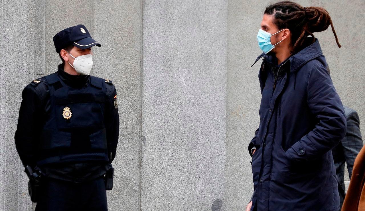 Alberto Rodríguez a su llegada al Tribunal Supremo para declarar como investigado en marzo