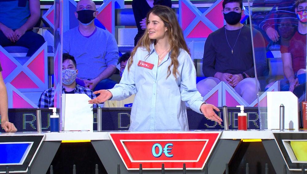 """El doble fallo garrafal de una concursante en 'La ruleta de la suerte': """"No me lo puedo creer"""""""