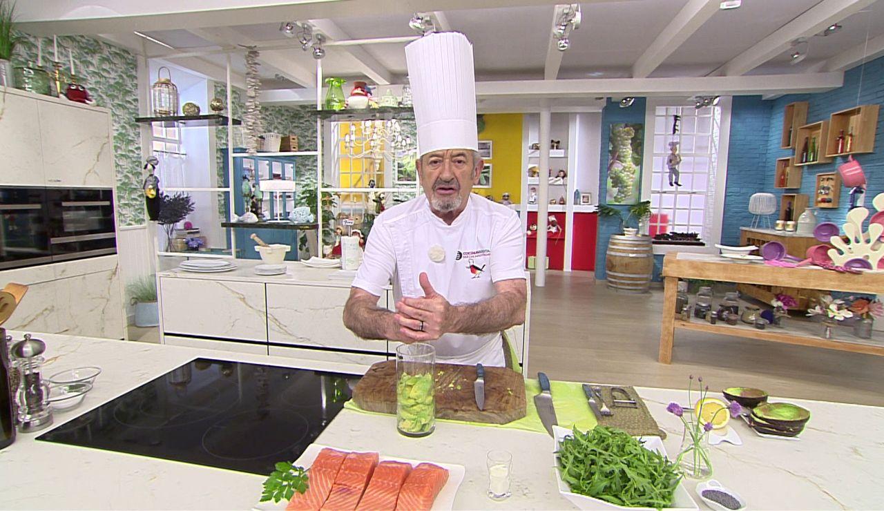 Karlos Arguiñano: Cómo elaborar una crema de aguacate en 2 minutos