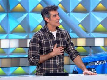 Jorge Fernández se emociona al recordar a Pau Donés en 'La ruleta de la suerte'