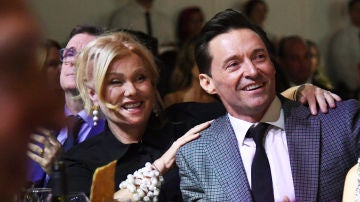 Hugh Jackman y su mujer Deborra-Lee Furness