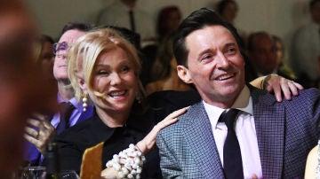 Hugh Jackman y su mujer Deborra-Lee Furness