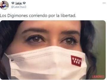 Los memes por el vídeo de campaña de Isabel Díaz Ayuso a las elecciones de Madrid