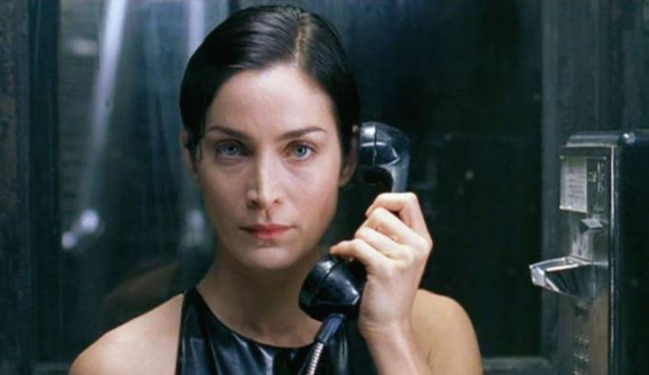 Carrie-Anne Moss en 'Matrix'