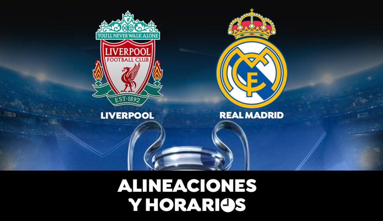 Liverpool - Real Madrid: Horario, alineaciones y dónde ver los cuartos de final de la Champions en directo