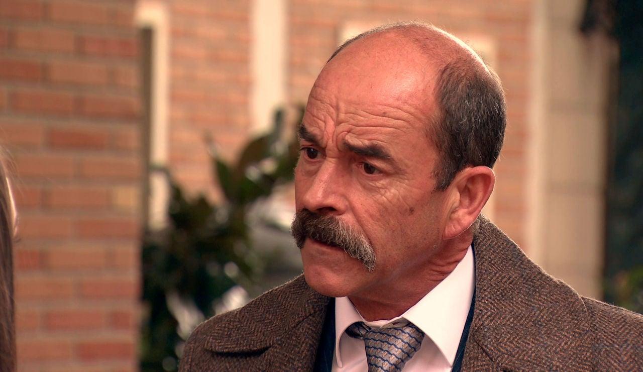 Beltrán se topa con el desprecio  de Emma en 'Amar es para siempre'