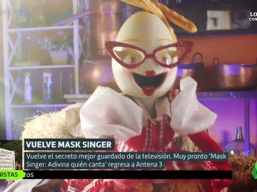 """Pista sobre Huevo de 'Mask Singer': """"A algunos huevos famosos se les ha subido la huevina a la cabeza"""""""