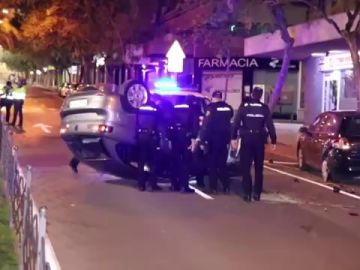 Dos mujeres heridas en un accidente en Alicante en el que la conductora triplicaba la tasa de alcoholemia
