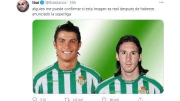 Tuit de @ibaillanos