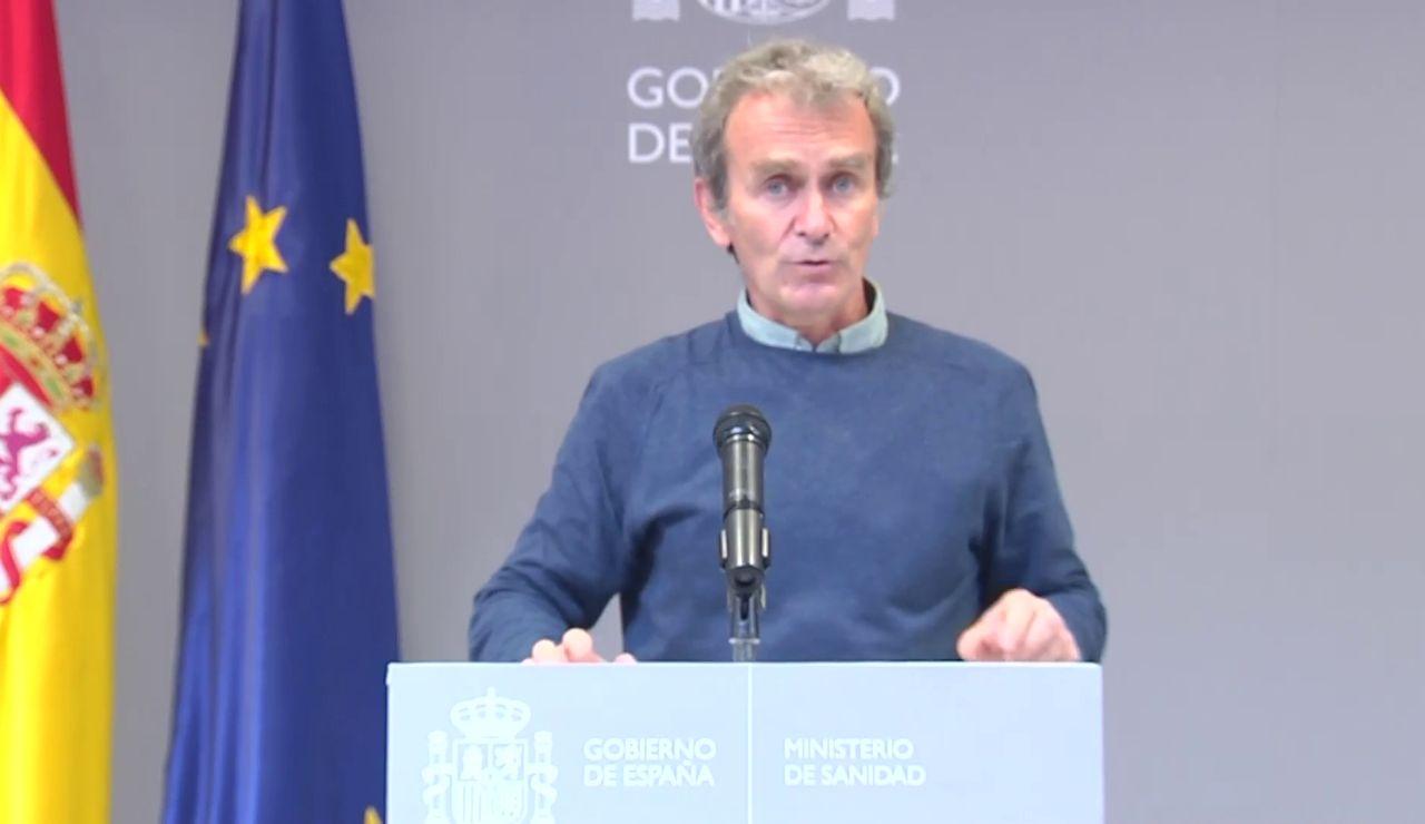 """Fernando Simón cree que la cuarta ola no será """"tan grande"""" y descarta descarta un """"excesivo efecto de la Semana Santa"""""""