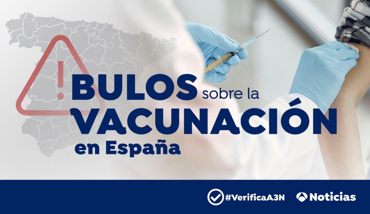El mapa de los bulos más frecuentes sobre la vacunación del coronavirus en España