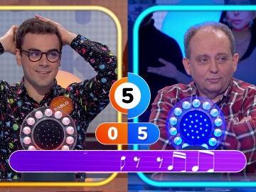 Pablo y Javier ponen en tensión a los invitados al no acertar el título del exitazo de Michael Jackson
