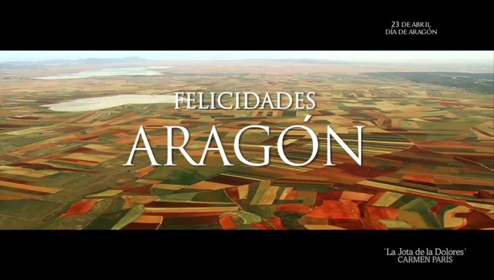 Atresmedia felicita a Aragón por el día de su Comunidad