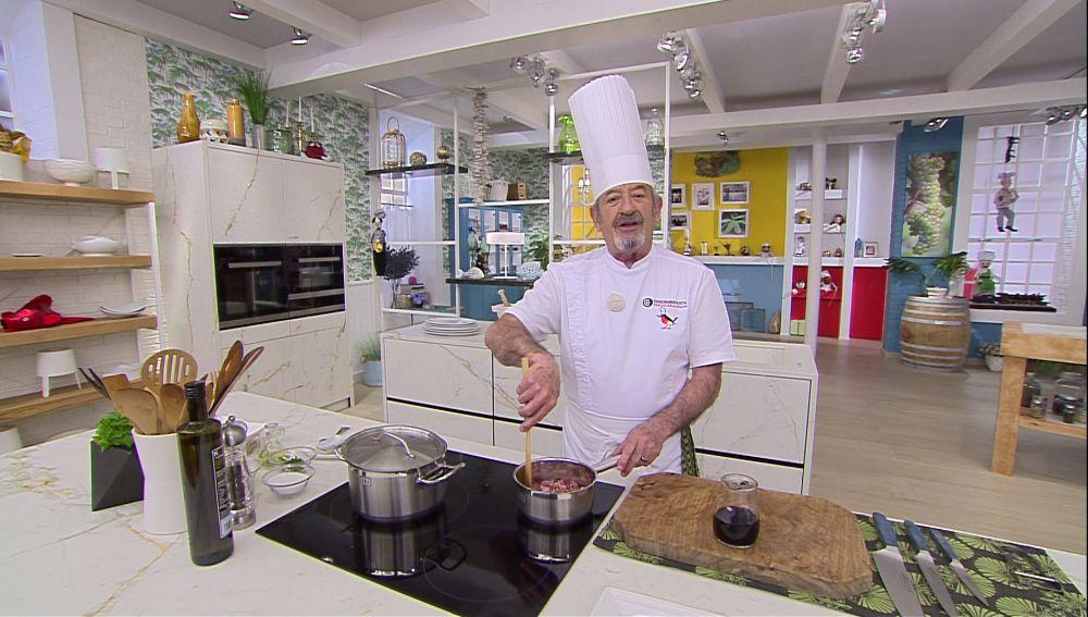 Karlos Arguiñano: Salsa rápida, sabrosa y fácil para cualquier tipo de carne