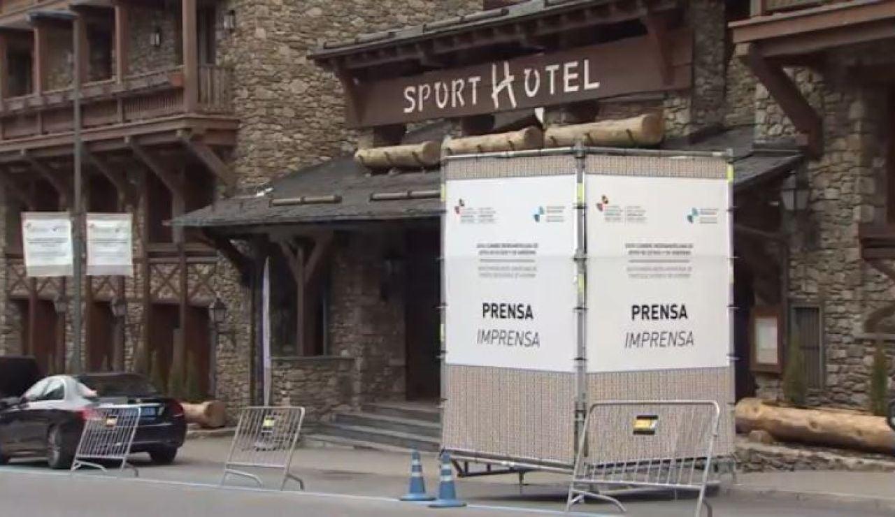 Detectan 10 positivos en un hotel de Andorra donde se celebra la Cumbre Iberoamericana