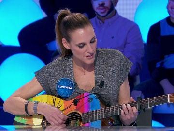 Conchita llena 'Pasapalabra' de emoción y dulzura cantando 'El viaje'