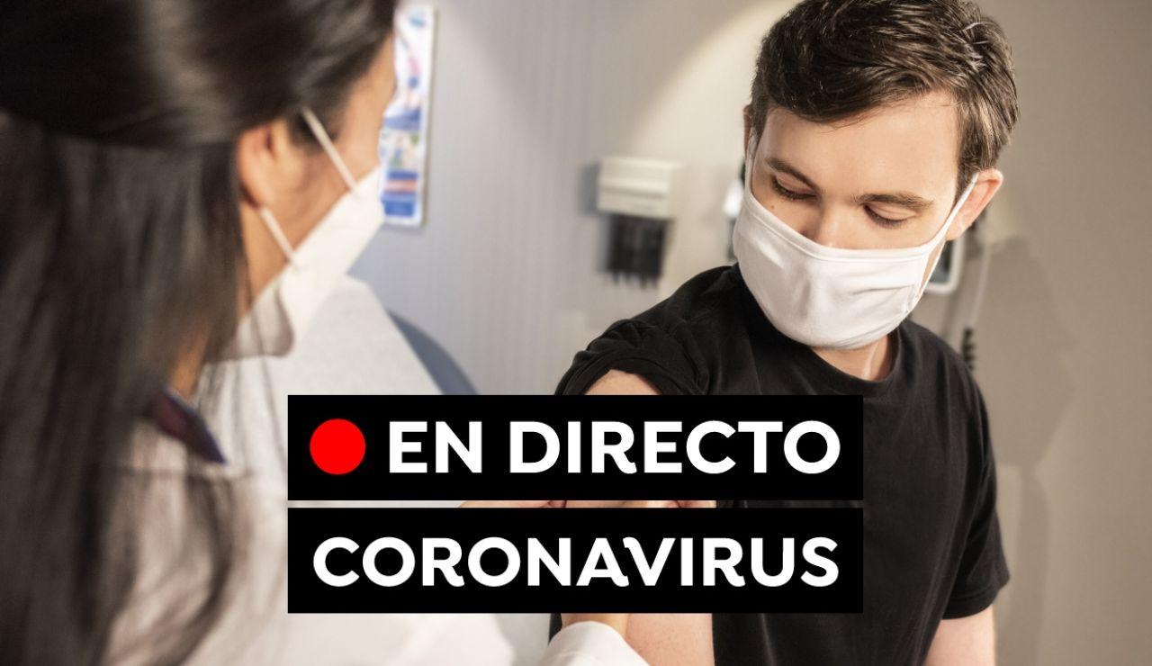 Coronavirus hoy: Restricciones, vacuna contra el covid-19 y últimas noticias en España