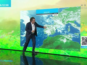 La previsión del tiempo hoy: Lluvias intensas en el entorno montañoso de Galicia, Cantábrico occidental, sistema Ibérico y comunidad Valenciana