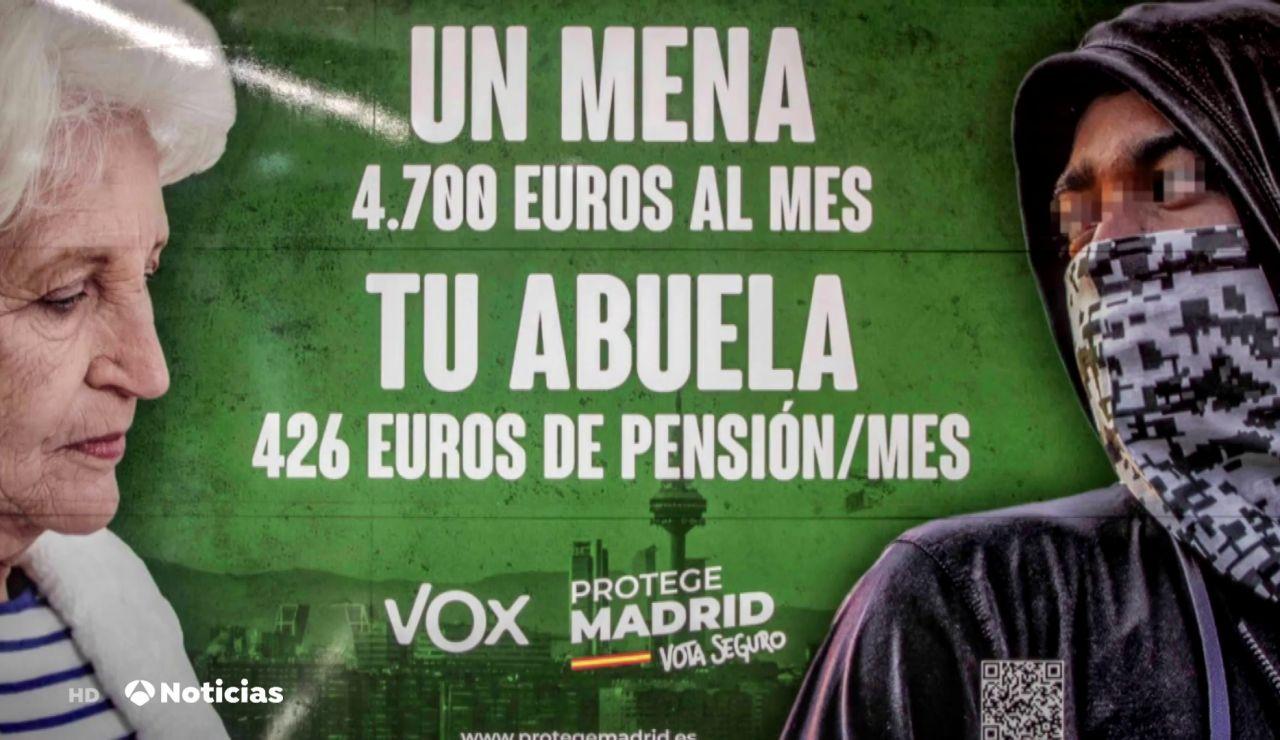 La Fiscalía de Madrid investigará a Vox por posible delito de odio en un cartel para las elecciones de Madrid