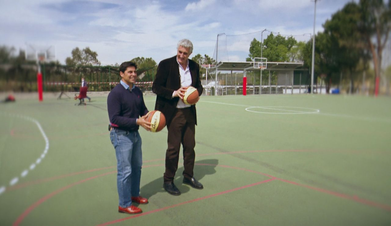 Fran Rivera y Fernando Romay.
