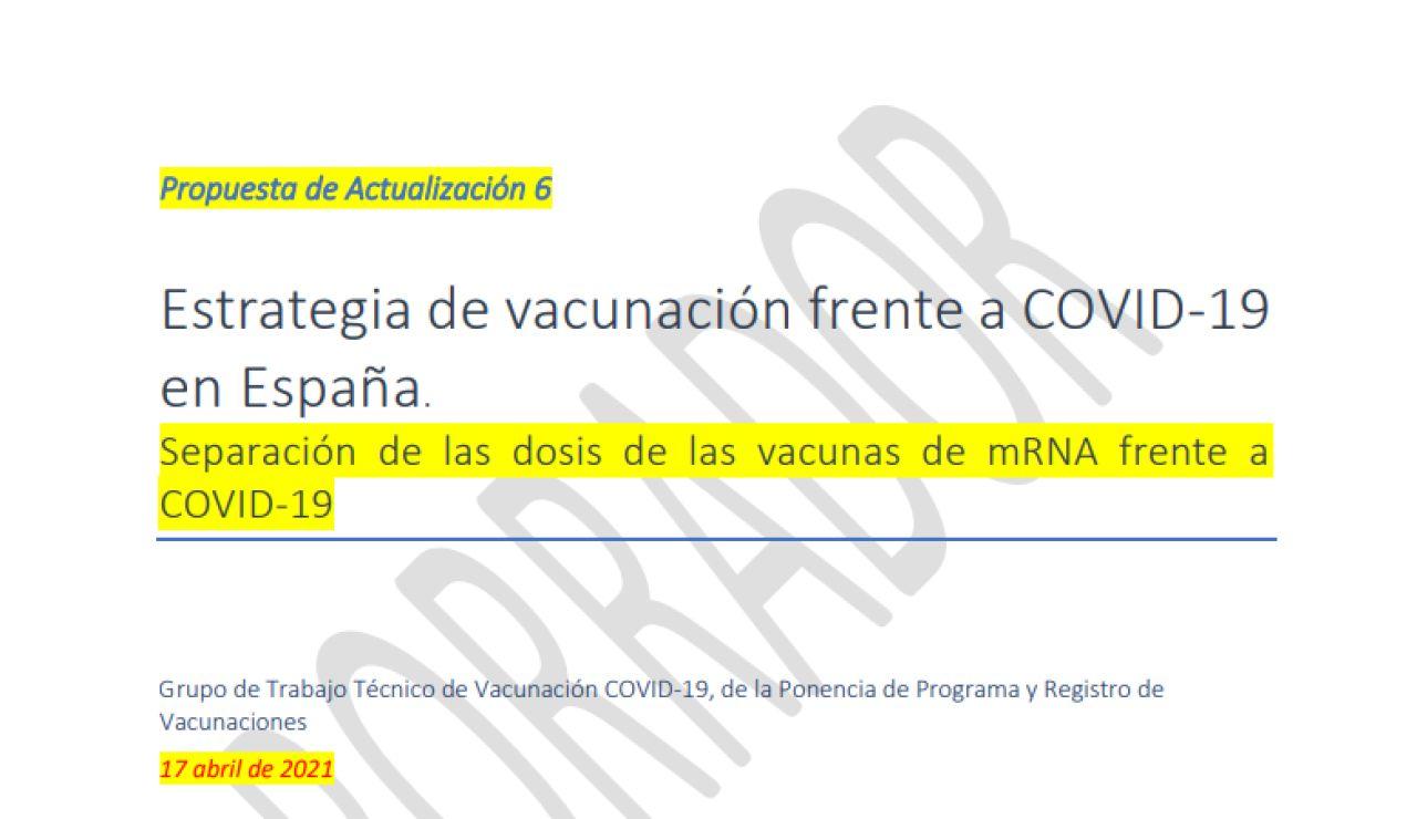 Las 3 opciones que baraja el Gobierno para la estrategia de vacunación contra el coronavirus