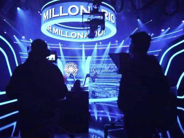 El espectacular making of de '¿Quién quiere ser millonario?': un gran despliegue para un concurso mítico