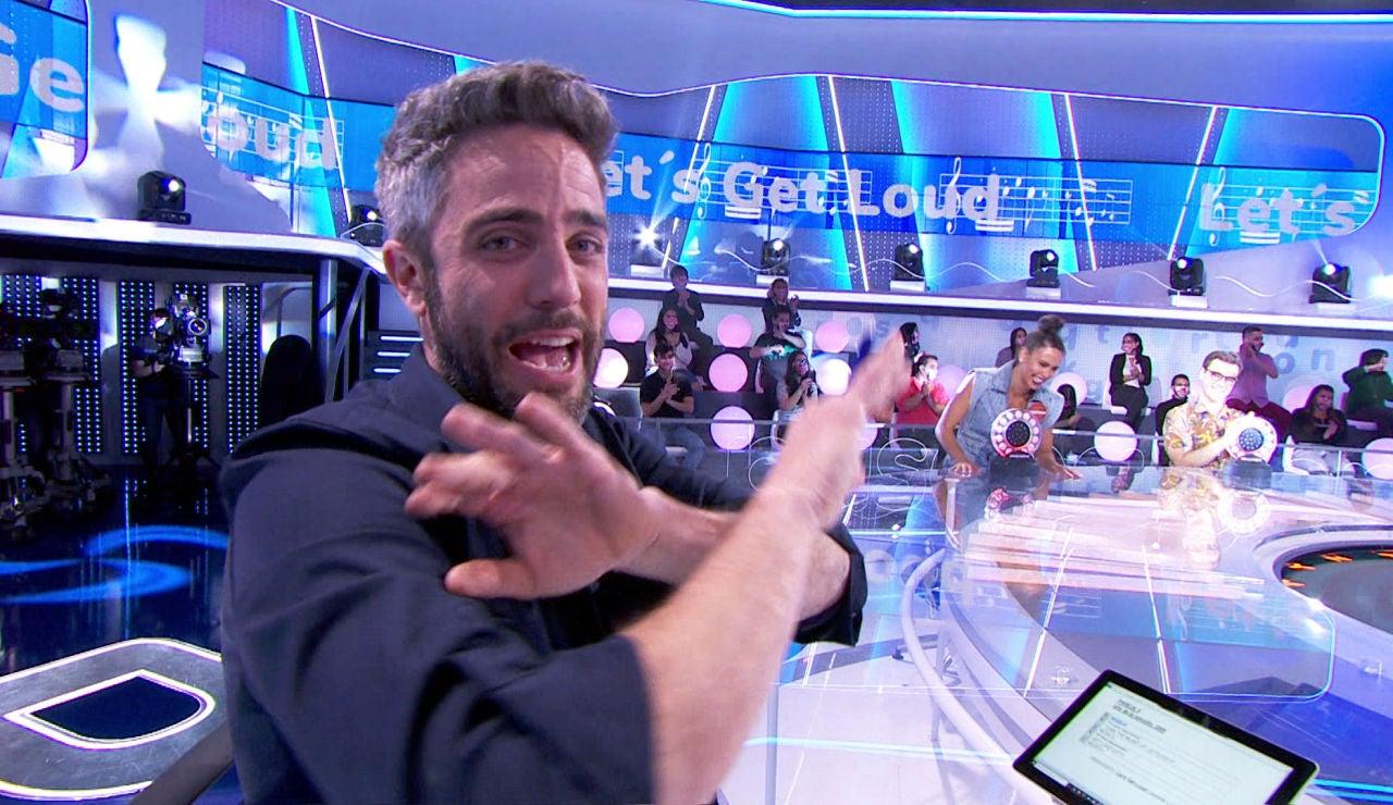 """""""¡Queremos volver a la bendita normalidad!"""", Roberto Leal convierte el plató de 'Pasapalabra' en una pista de baile"""