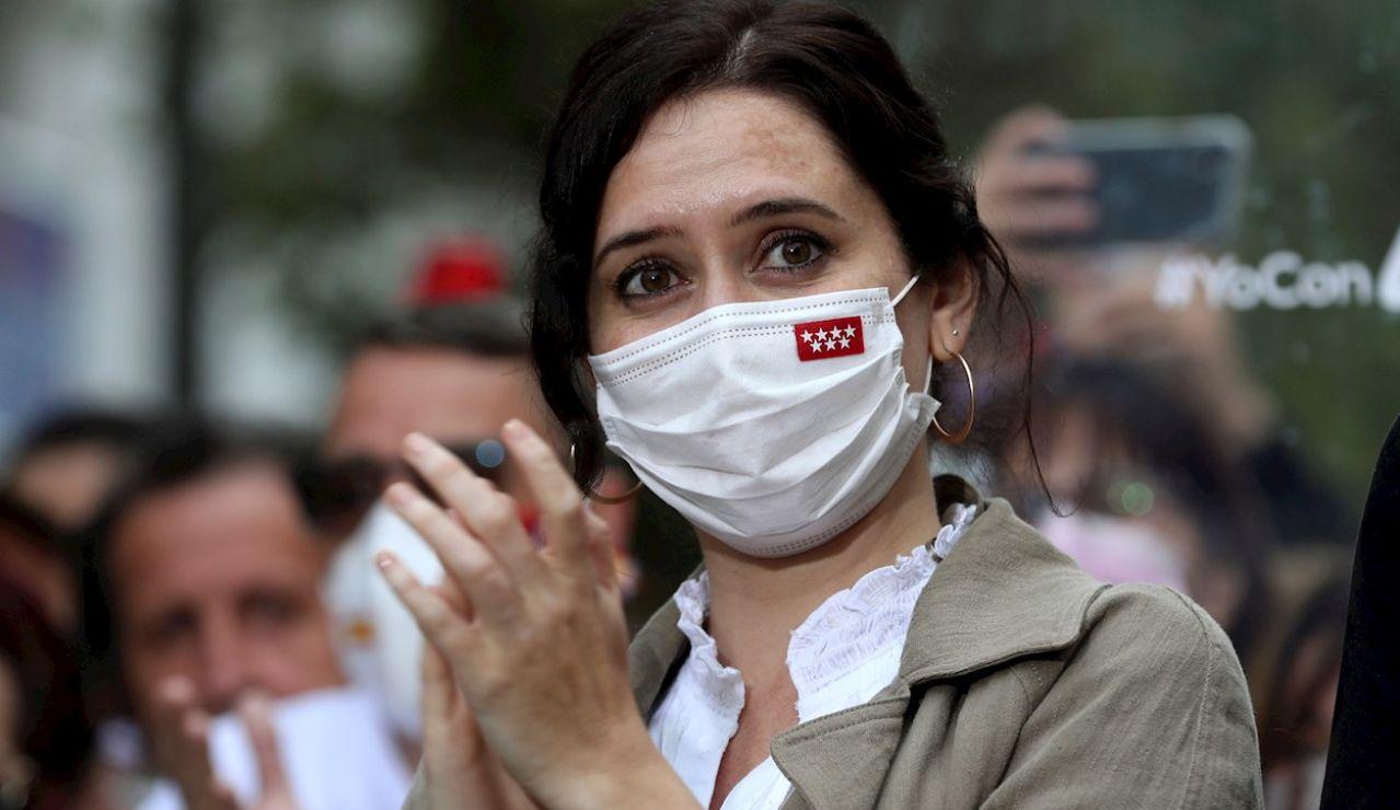 La presidenta madrileña y candidata del PP a las elecciones autonómicas, Isabel Díaz Ayuso