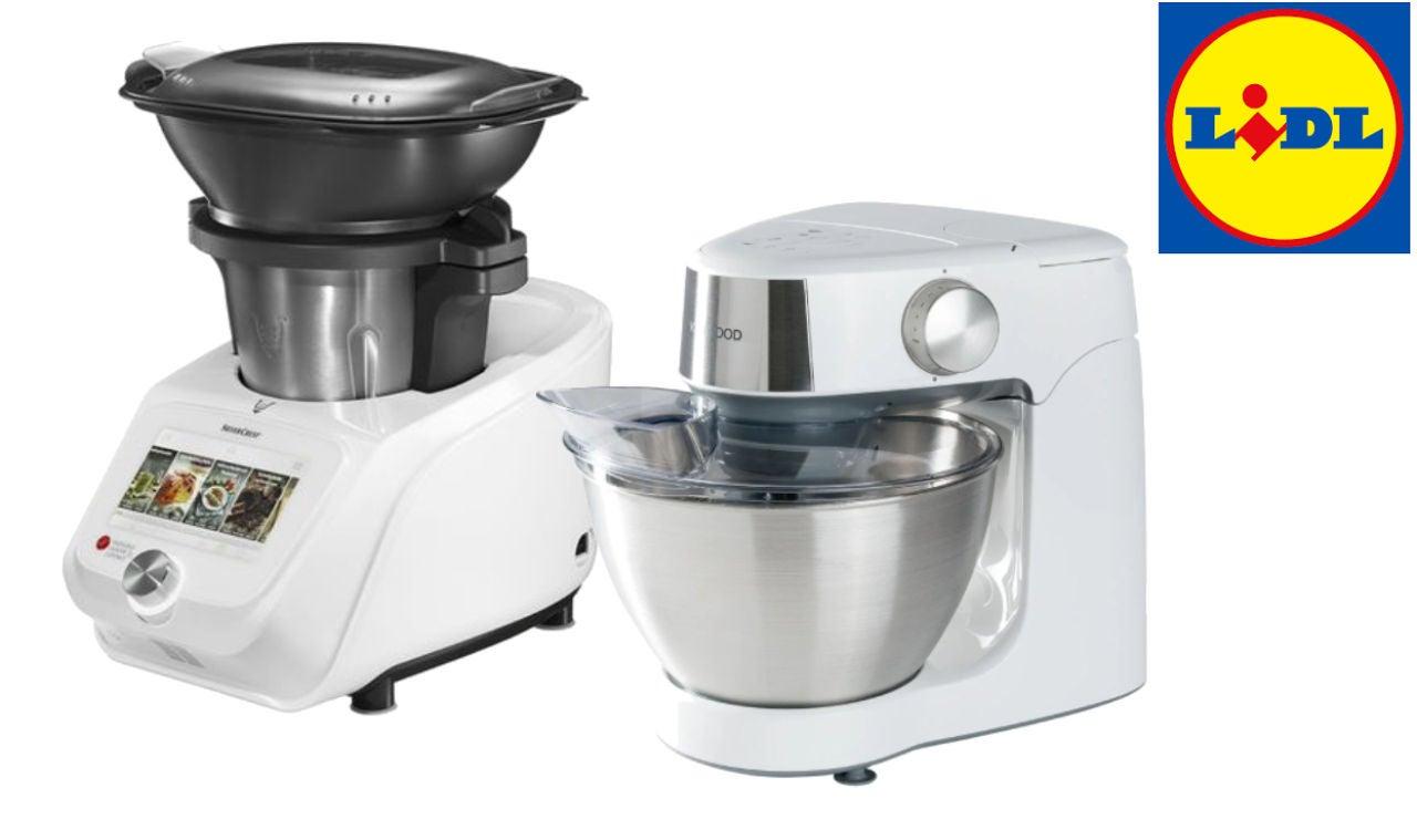 'Monsieur Cousine' y 'Prospero' los robots de cocina de Lidl