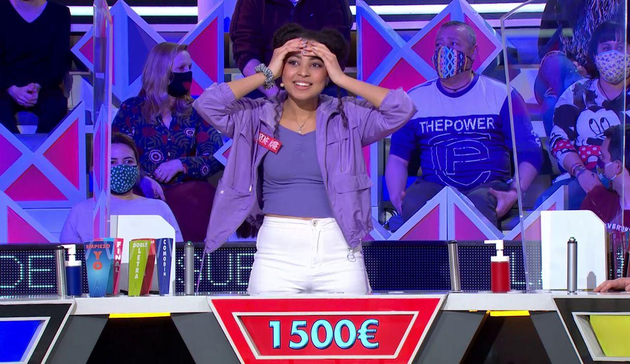 """Irene pierde 1.500€ tras unas jugadas impecables: """"Estabas como dormida"""""""
