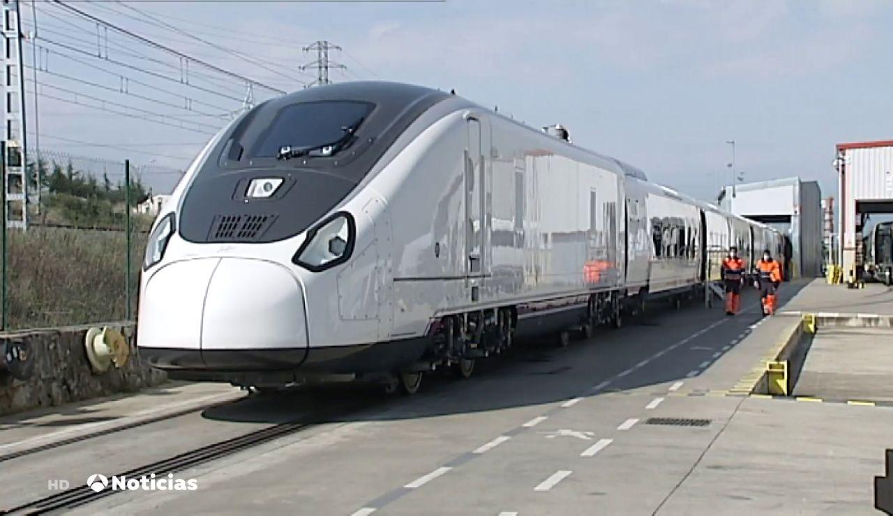 Así será AVRIL, el nuevo tren de Renfe que hará viajes 'express' entre España y Francia a 330 km/hora