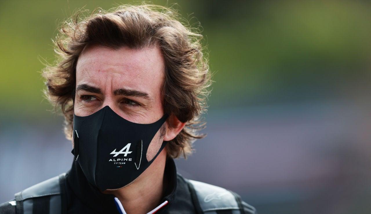 """Fernando Alonso: """"Alpine tiene potencial para ser un equipo campeón en el futuro"""""""